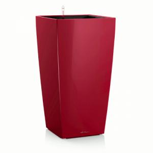 Горшок LECHUZA Cubico 30 Красный глянец