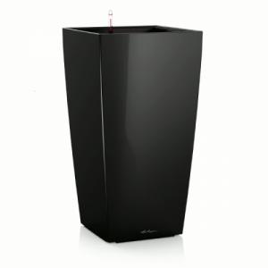 Горшок LECHUZA Cubico Premium 30 Черный глянец