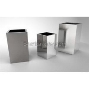 Металлические горшки «КВАДРО» 150*150*150