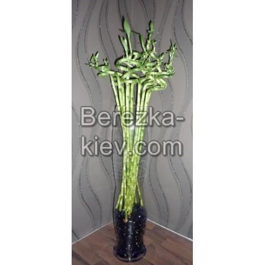 Бамбук декоративный 1 стебель (1шт.), (90 см.)