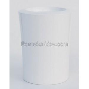 Пластиковый горшок Garafia (белый) 38