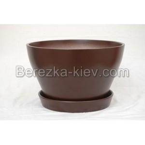 Бокарнейница  цвет темно-коричневый (диаметр 32 см.)