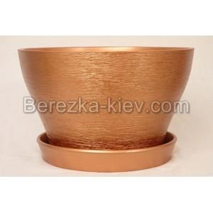Бокарнейница  цвет бронза (диаметр 32 см.)