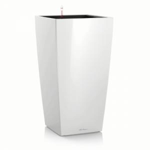 Горшок LECHUZA Cubico Premium 22 Белый глянец