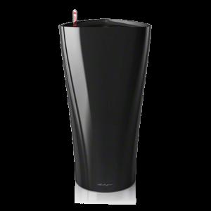 Горшок LECHUZA Delta 40 Черный глянец