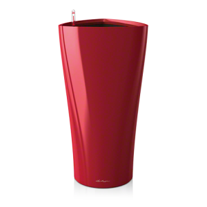Горшок LECHUZA Delta 30 Красный глянец